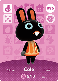 animal crossing cole