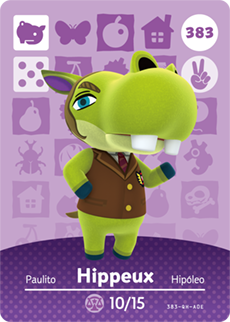 animal crossing hippeux