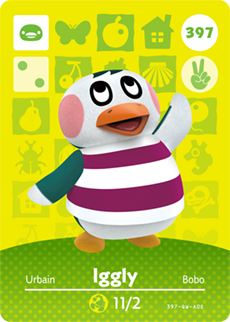 animal crossing iggly