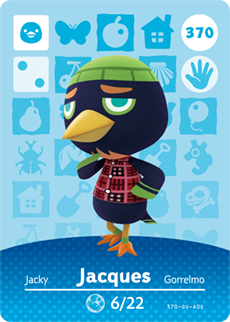 animal crossing jacques