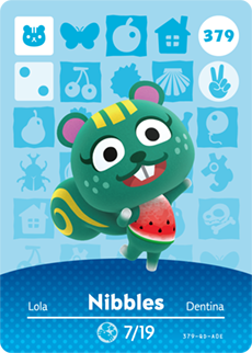 animal crossing nibbles