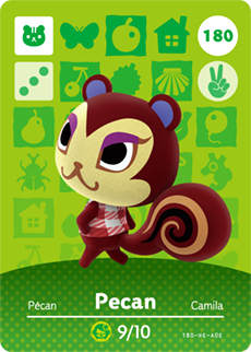 animal crossing pecan
