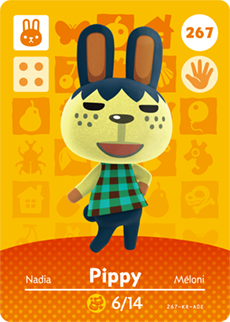 animal crossing pippy