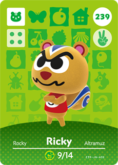 animal crossing ricky