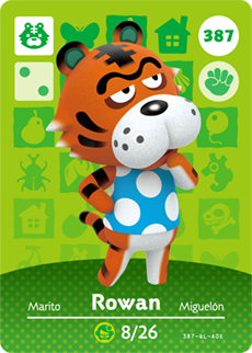 animal crossing rowan