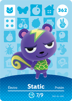animal crossing statoc