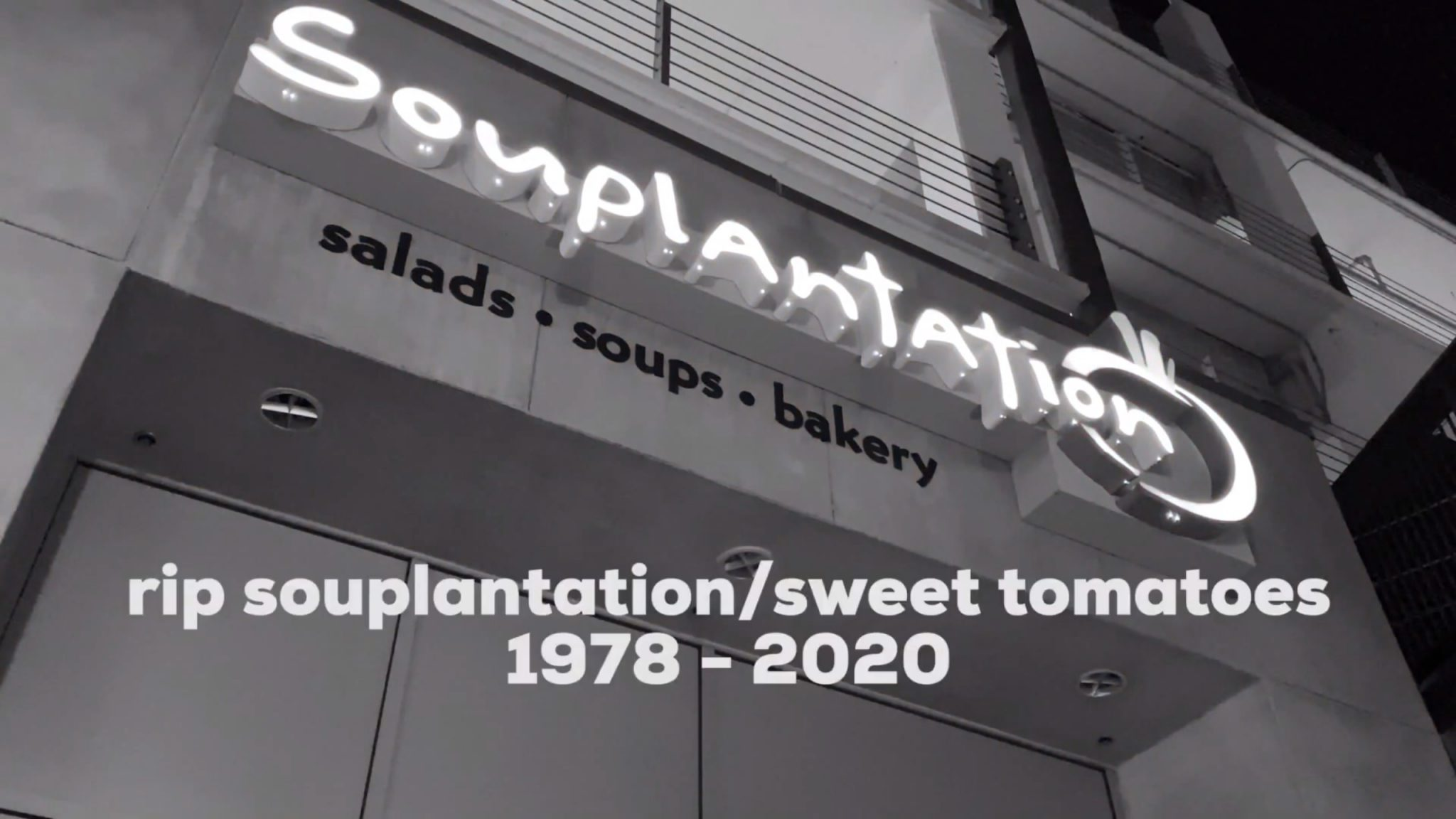 Photo of A Fanbyte Memorial for Souplantation (a.k.a. Sweet Tomatoes) (5/8/20)