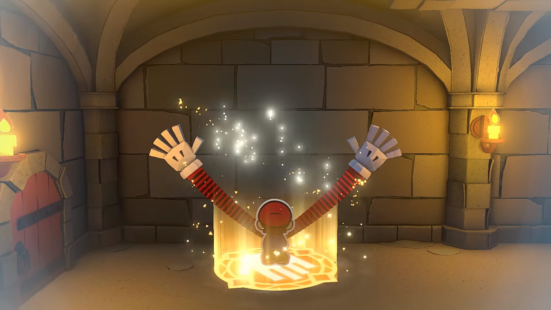 Photo of Look At Mario's Long-Ass Arms in Paper Mario: The Origami King