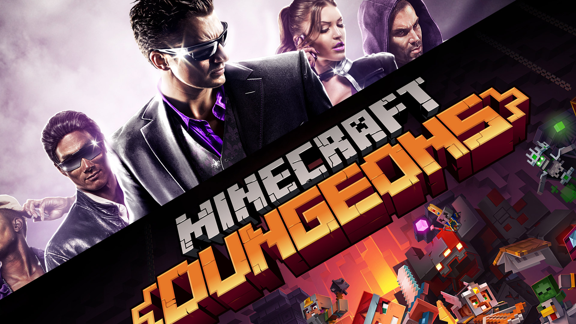 Photo of Minecraft Dungeons + Saints Row The Third: Remastered Review Podcast