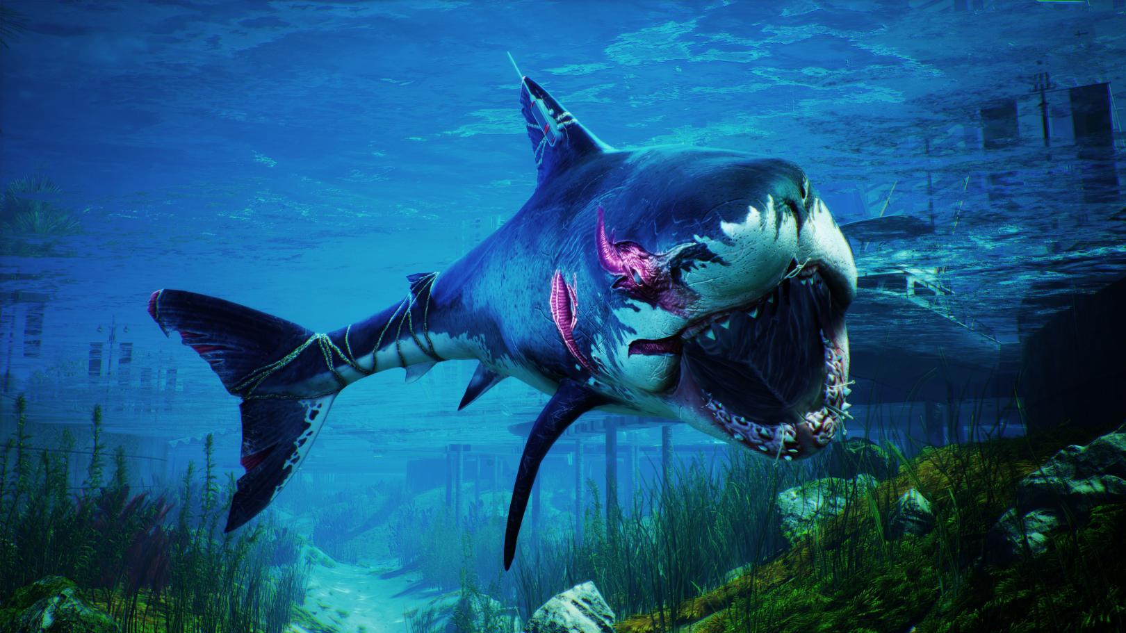 Photo of The Big Shark from Maneater is Gaming's Newest Feminist Icon