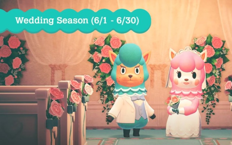 Animal Crossing Nh Wedding Season Guide How To Start The Event