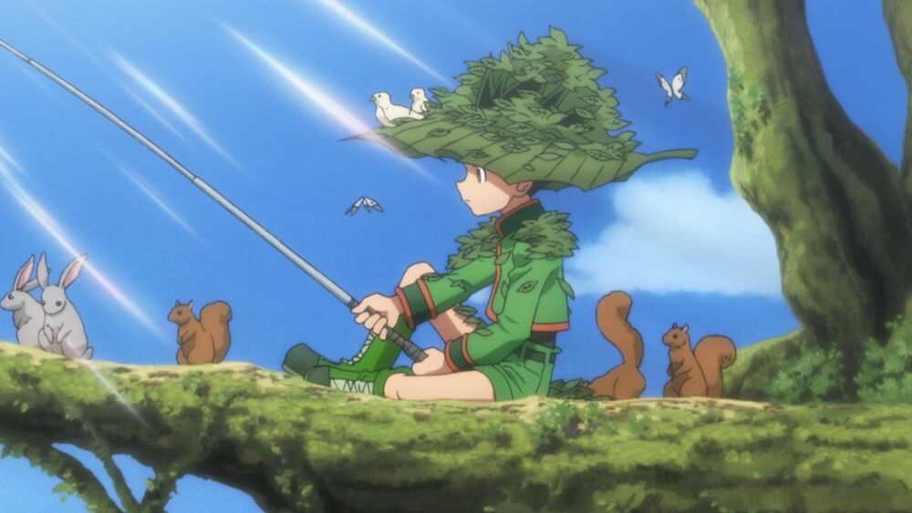 hunter x hunter gon swamp