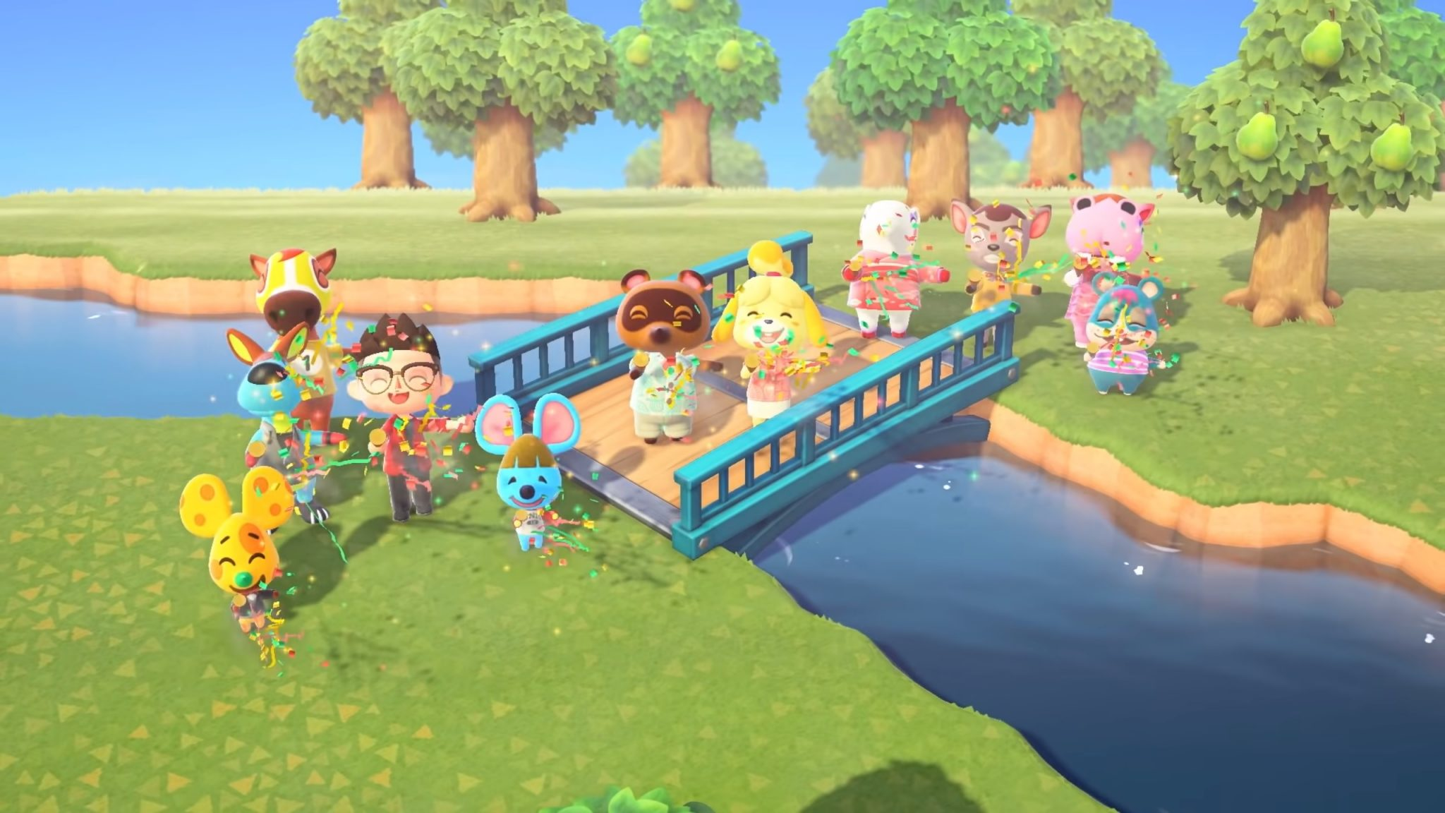 Photo of Queer Players Use Animal Crossing: New Horizons to Party for Pride