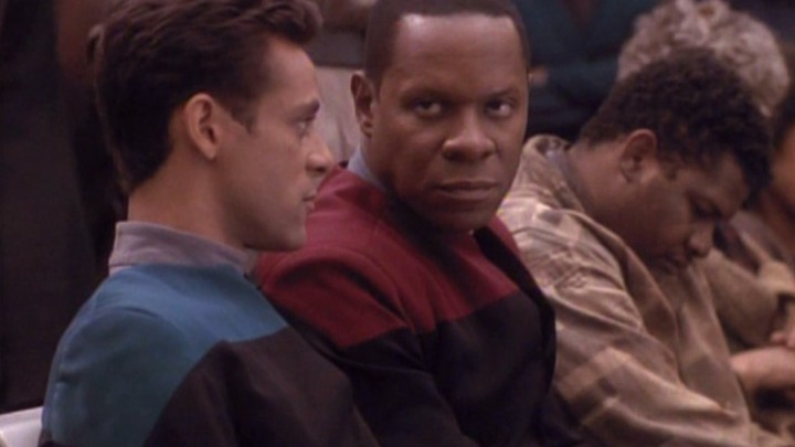 deep space nine past tense