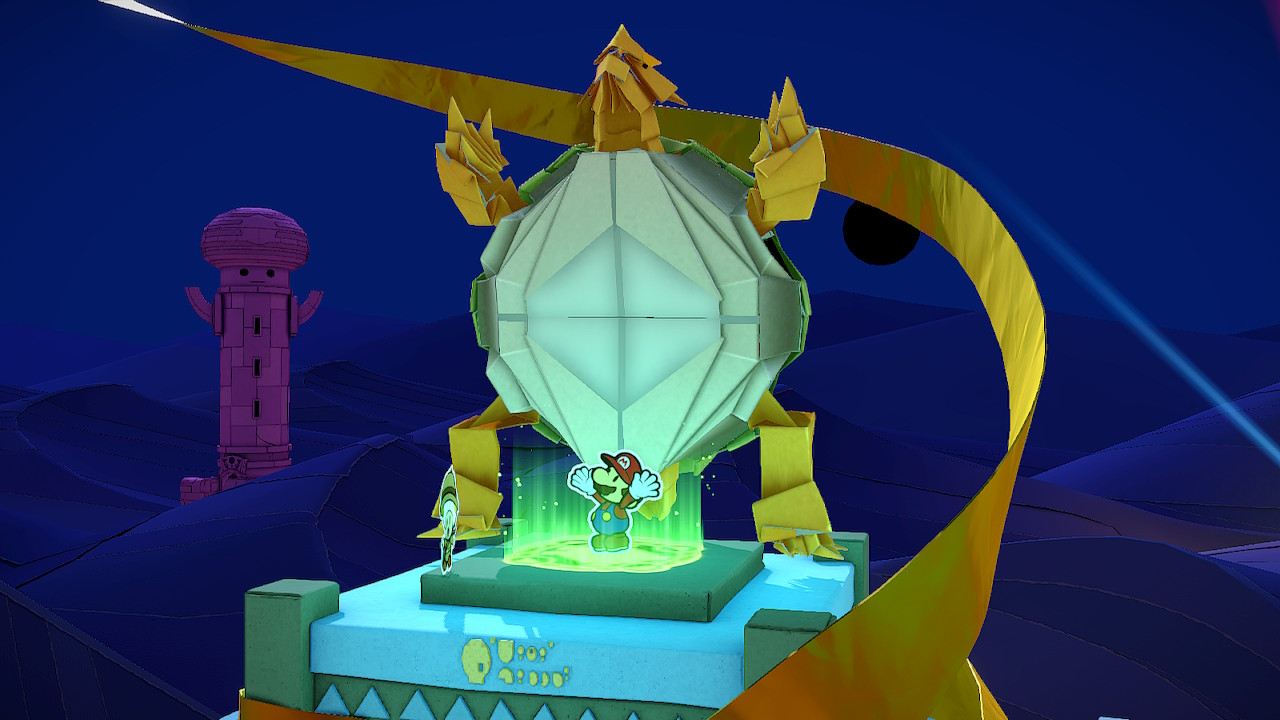 Paper Mario Tower Eye Locations