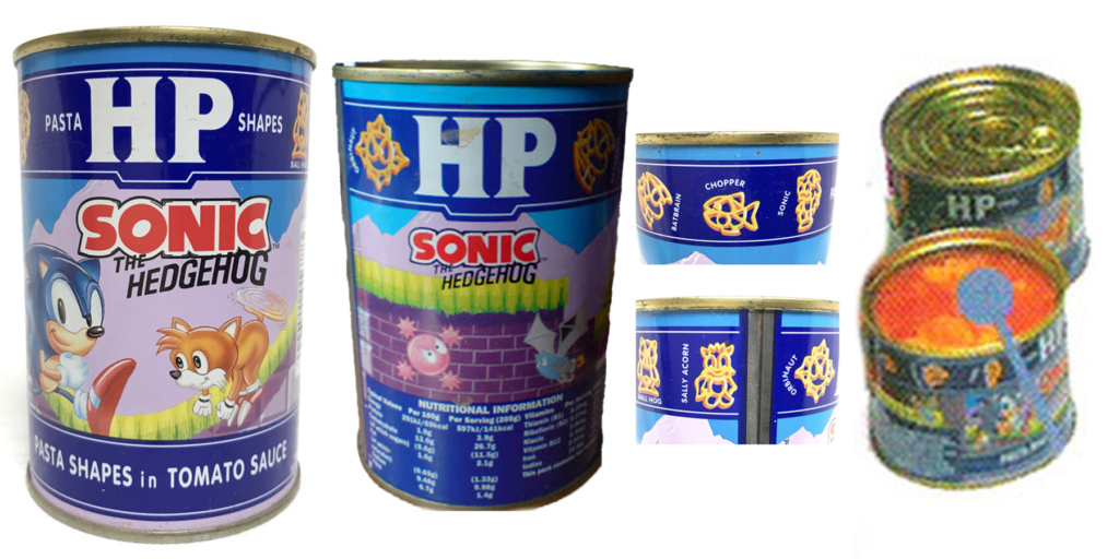 HP Foods Canned Sonic Pasta