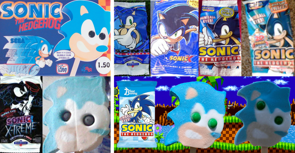 An Exhaustive List Of Every Sonic The Hedgehog Food Product Ever Made