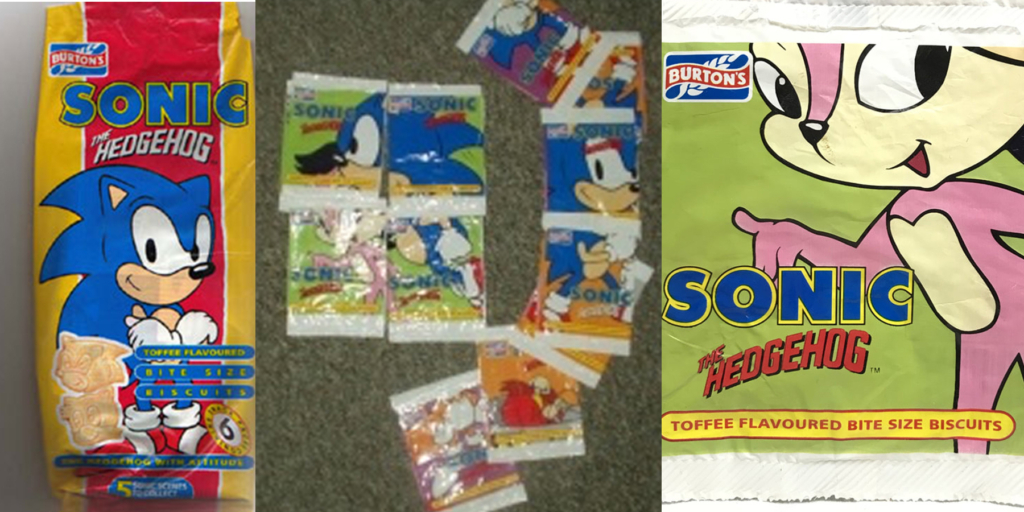 Sonic Toffee Biscuits
