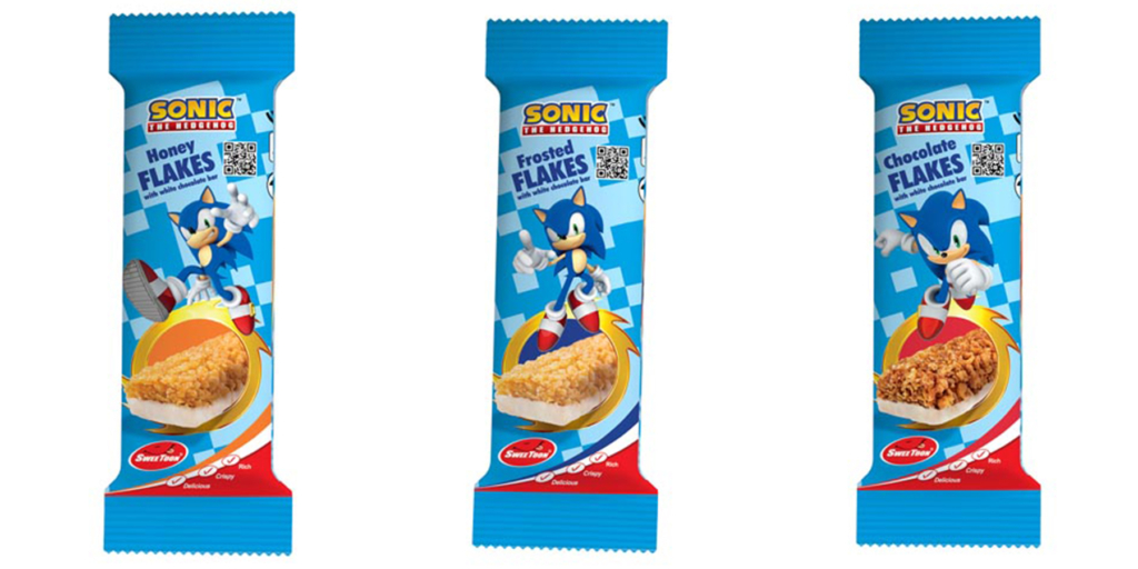 Sonic Cereal Bars
