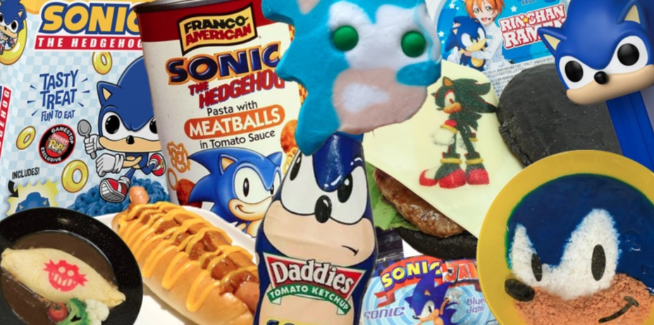 Photo of An Exhaustive List of Every Sonic The Hedgehog Food Product Ever Made