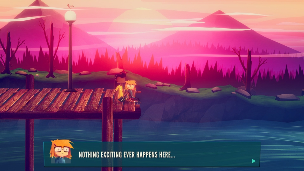 Jenny LeClue nothing happens