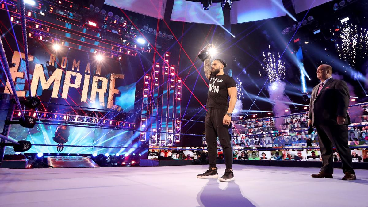 Photo of Roman Reigns Is WWE's First (Kayfabe) Response to the Pandemic