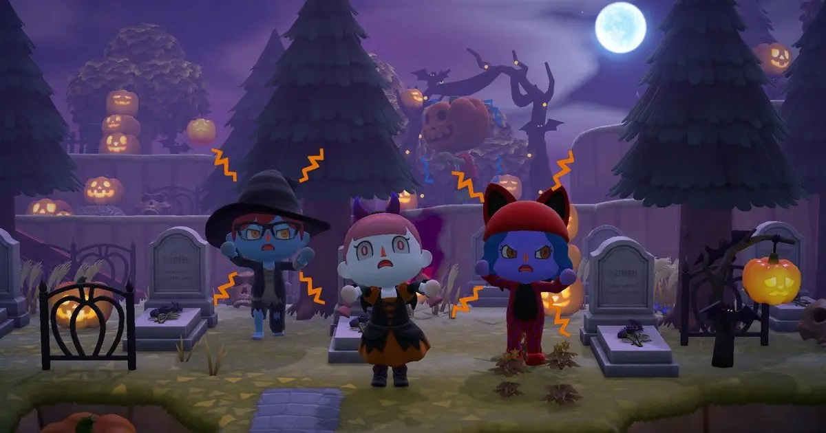 Photo of Animal Crossing Halloween Update Makes Your Island Spooky
